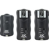 JJC 433 MHz [3 i 1]: Blixtutlösare, trådutlösare & fjärrutlösare JF-U2 ([Cable-B] ersätter kabeln till Nikon MC-30/MC-36/MC-30A/2st)